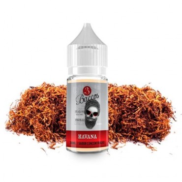 3 Baccos - Havana 30ml to 120ml