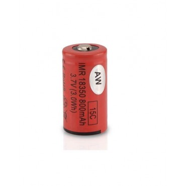 AW 18350 IMR 800mAh battery