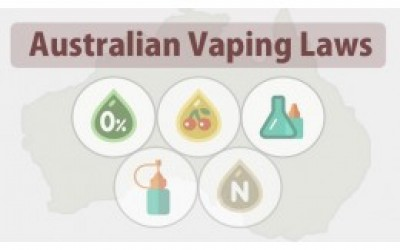 E-liquids with nicotine isn't allowed on Australia and that creates confusion
