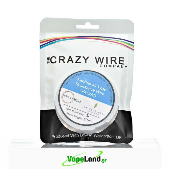 Crazy Wire Kanthal A1 0,30mm 10m