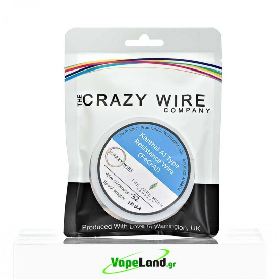 Crazy Wire Kanthal A1 0,32mm 10m