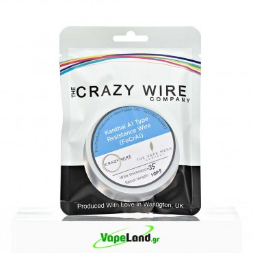 Crazy Wire Kanthal A1 0,35mm 10m