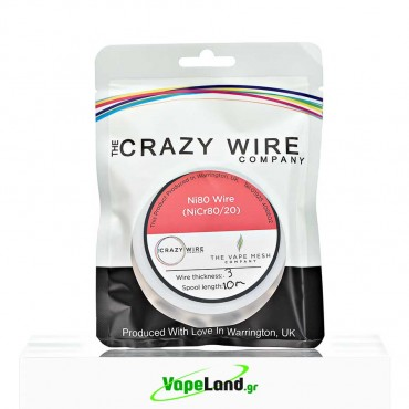 Crazy Wire Ni80 0,40mm 10m