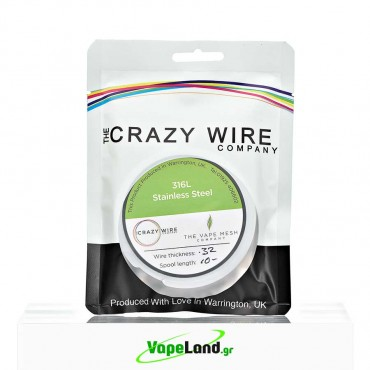 Crazy Wire SS316L 0,32mm 10m