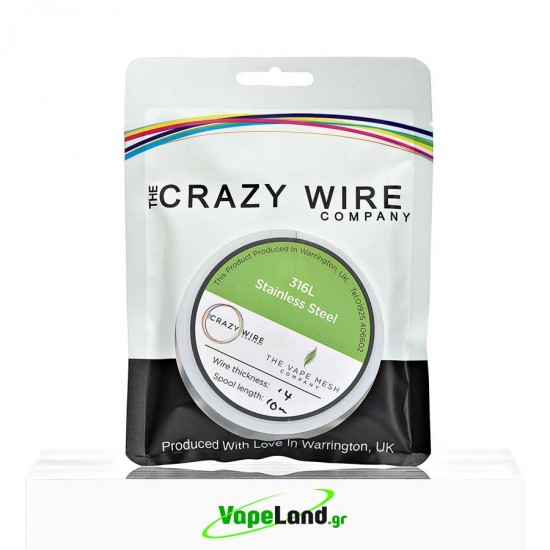 Crazy Wire SS316L 0,40mm 10m
