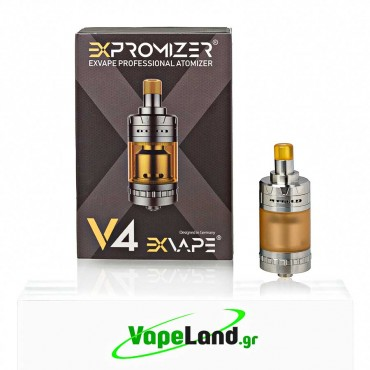ExVape - Expromizer V4 MTL RTA 2ml Brushed Silver