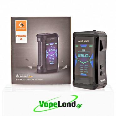 Geekvape - Aegis X Mod 200W TC Stealth Black