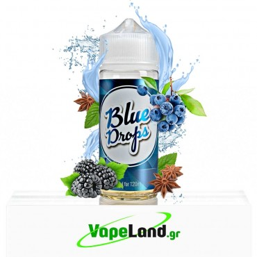 Infamous Drops Flavor Shots - Blue Drops 20ml to 120ml