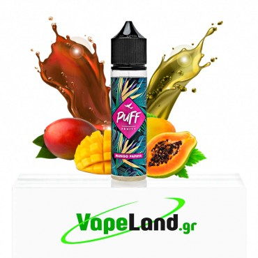 Puff Fruity Flavor Shots Mango Papaya 20ml to 60ml