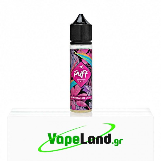 Puff Fruity Flavor Shots Pomegranate Lychee 20ml to 60ml