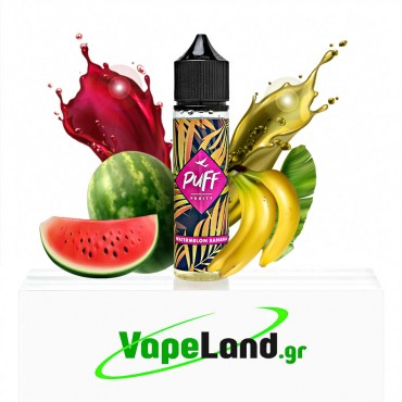 Puff Fruity Flavor Shots Watermelon Banana 20ml to 60ml