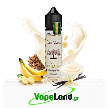 Ripe Vapes Flavor Shots - VCT Banana 20ml to 60ml