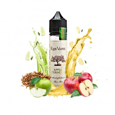 Ripe Vapes Flavor Shots - Apple Tobacco 20ml to 60ml