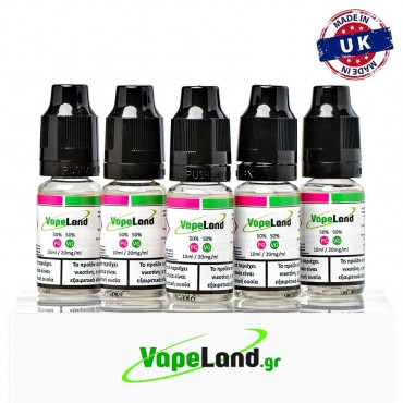 Vapeland Booster 50/50 PG/VG 20mg 5pcs
