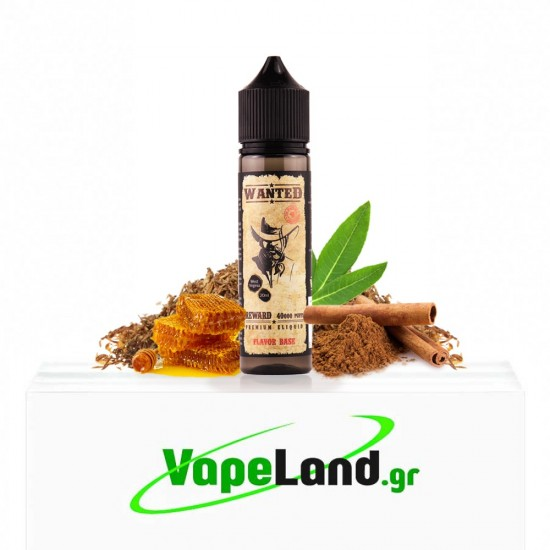 Wanted Flavor Shots West Virginia 20ml to 60ml