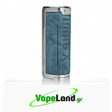 Voopoo Drag X Plus Mod 100W Prussian Blue